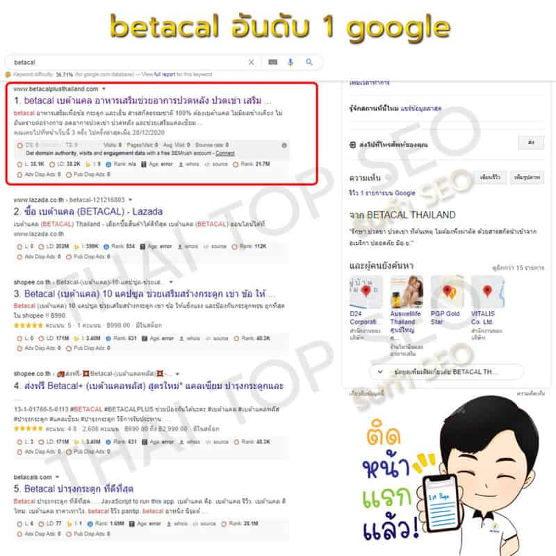 betacal google